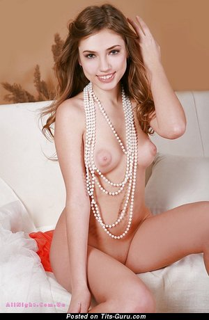 Image. Naked beautiful woman with medium natural breast picture