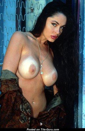 Leslie Glass - Handsome Topless American Red Hair (Vintage Porn Foto)