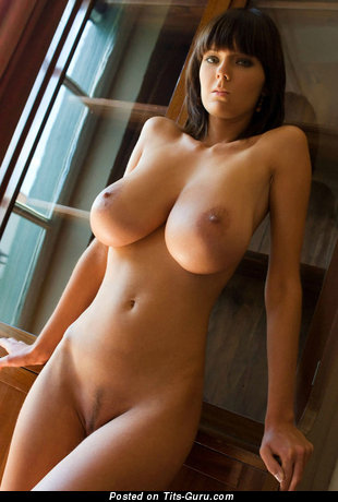 Image. Naked beautiful woman with big tittes image