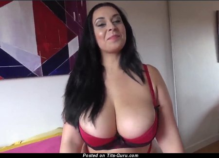 Anastasia Lux - Beautiful British Female with Beautiful Defenseless Natural Ddd Size Titties (Porn Image)