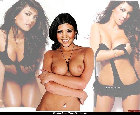 Kourtney kardashian naked tits