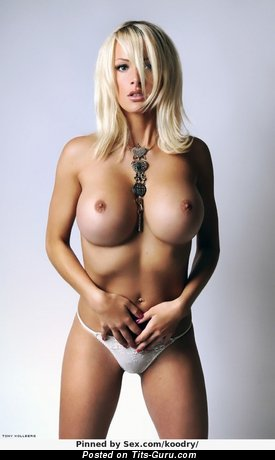 Image. Marie Plosjö - nude amazing woman with big fake breast image