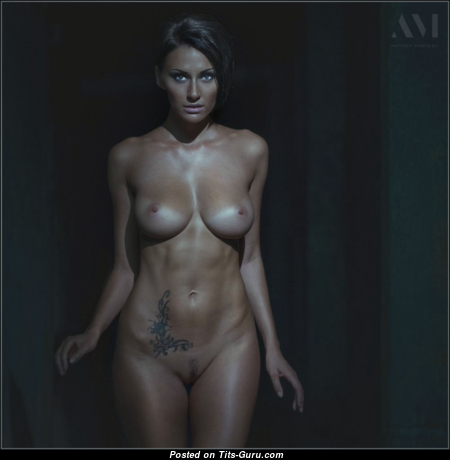 Yulia Pilushka Androschuk - Stunning Topless Russian Brunette with Stunning Bare Real Med Melons (Hd Xxx Photoshoot)