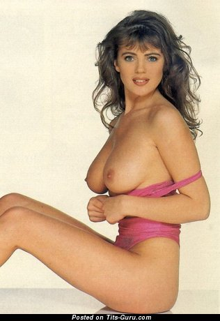 Angela Lea - Fascinating Topless British Babe with Fascinating Naked Natural D Size Melons (18+ Picture)