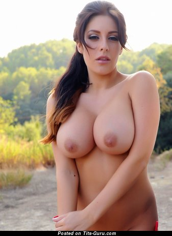 Sexy nude beautiful girl with medium tits picture