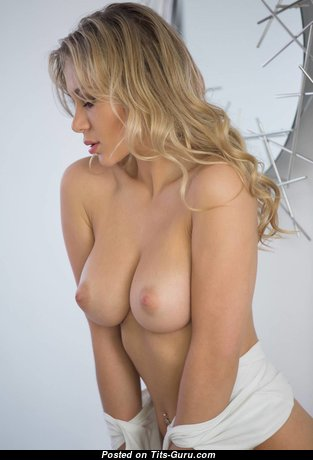 Candice Brielle - Perfect Topless Blonde Babe with Perfect Defenseless Real Medium Tittes (Hd Sexual Picture)