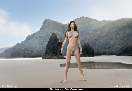 Image. Jessica Albanka - sexy topless beautiful girl photo