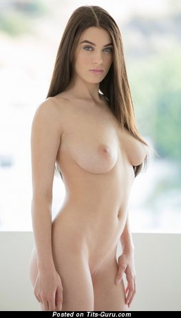 Image. Lana Rhoades - sexy naked hot female with medium natural boobies image