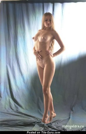 Юлия Кова - Pleasing Doll with Pleasing Defenseless Natural Medium Tits (Porn Picture)