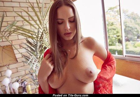 Sabine Jemeljanova - Awesome Latvian Red Hair Babe with Awesome Nude Natural Soft Tit (4k Porn Image) #natural_boobs #latvian #4k #medium_boobs #babes #red_hair #boobs #tits #nude #erotic #сиськи #голая #эротика #titsguru