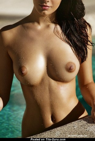 Image. Naked beautiful woman with medium breast image