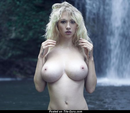 Image. Naked blonde with big tittes picture