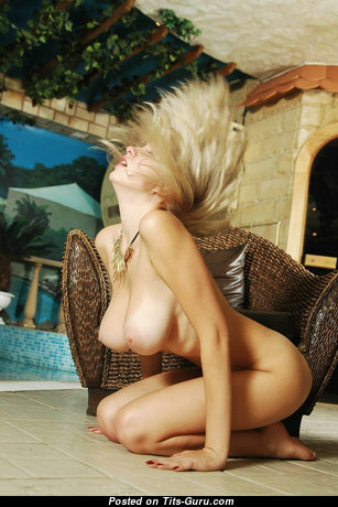 Katja B - Handsome Blonde with Handsome Bare Natural Average Tittys (Hd Sexual Pix)