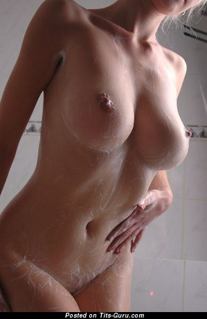 Image. Wonderful girl with big tots image