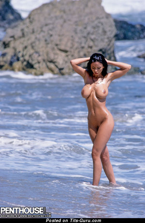 Image. Veronika Zemanova - naked wonderful woman with huge tits image