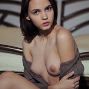 Lilit A - beautiful woman with medium natural boobies photo