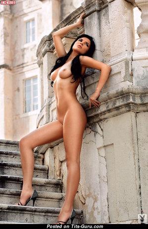 Leona Rajacic - Fascinating Topless Croatian Brunette with Fascinating Nude Natural Knockers (Hd Sex Foto)