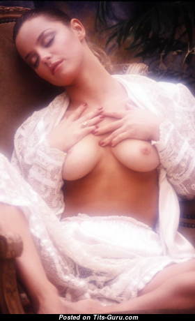 Sheila Kennedy - Adorable Topless American Red Hair with Adorable Nude Natural Boob (Vintage Xxx Photo)