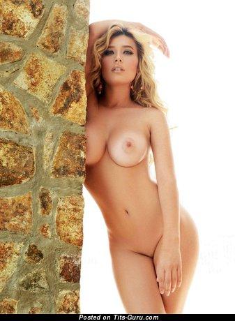 Brenda Zambrano - Wonderful Latina Blonde Babe with Wonderful Bare Silicone D Size Titties (Hd Xxx Photoshoot)