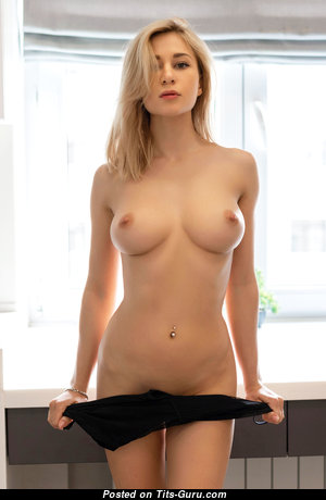 Candice B - Magnificent Ukrainian Blonde Babe with Magnificent Naked Real C Size Jugs (Hd Sex Foto)
