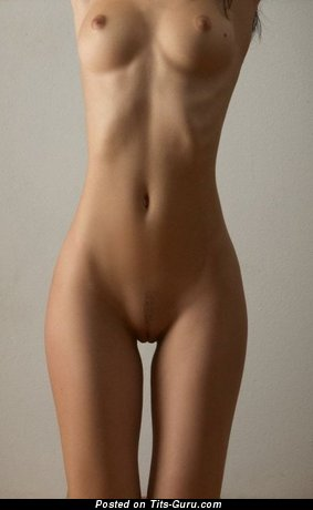 Image. Nude amazing female with medium boobies pic