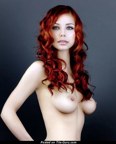 Image. Nude awesome girl with medium natural tittys photo