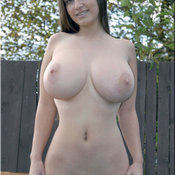 Wonderful female with big boob photo