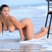 Hot woman with big natural tittys photo