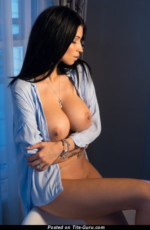 Image. Nude nice female with big tits photo