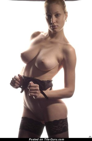 Image. Nude hot girl with natural boobies photo