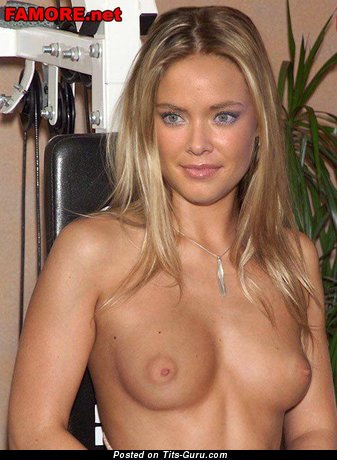 Image. Kristanna Loken - naked awesome lady with natural tits image