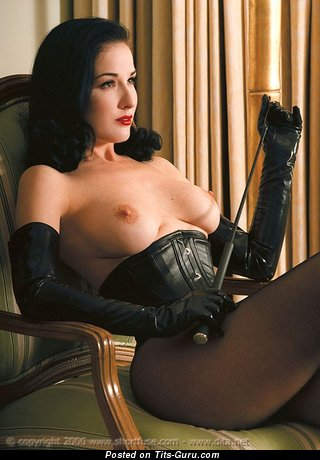 Image. Dita Von Teese - nude wonderful lady with medium natural tots picture
