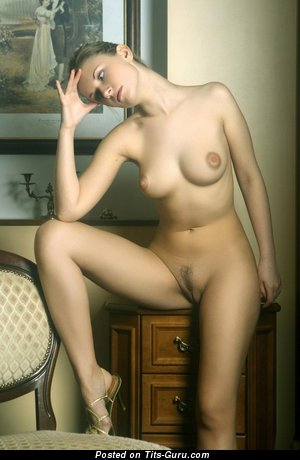 Image. Nude hot lady with medium natural tittys photo
