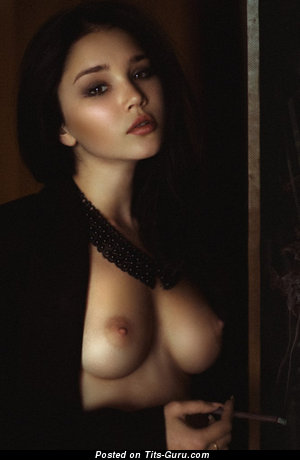 Image. Nice female with medium natural tittys picture
