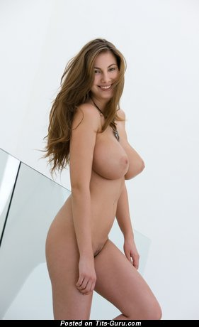 Image. Connie Carter - sexy naked awesome female with medium natural boob photo