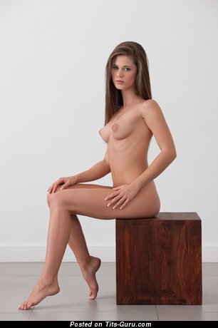 Image. Nude nice female with natural boob pic
