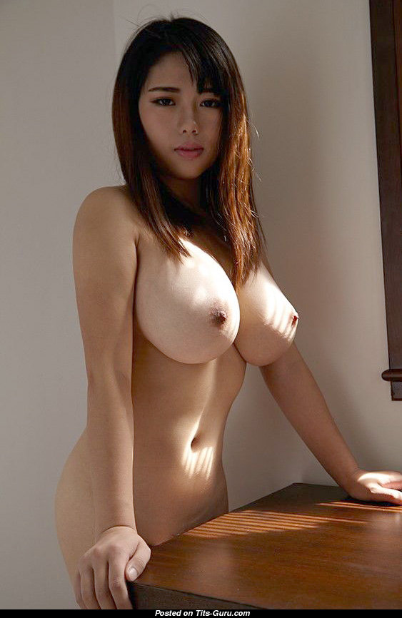Charming Asian Doll With Charming Bald Big Knockers Porn -3485