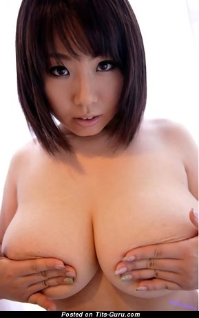 Image. Rin Aoki - nude asian brunette with medium natural tittys image