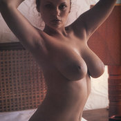 Sexy awesome female with natural breast pic