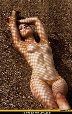 Image. Beautiful female with medium tittys photo