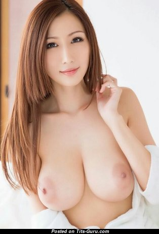Julia Boin - Pleasing Japanese Brunette Pornstar with Pleasing Naked Natural Mid Size Jugs (Sex Wallpaper)