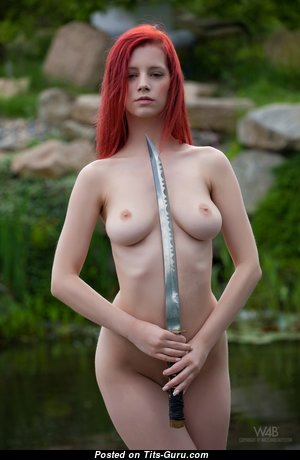 Ariel Piper Fawn - The Best Czech Red Hair Babe & Pornstar with The Best Bald Real Medium Boobs & Giant Nipples (Hd Sexual Pic)
