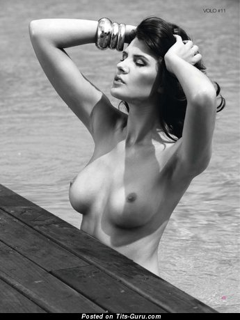 Image. Olga Kaminska - nude hot woman with medium natural tittys photo