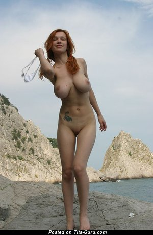 Image. Polina - naked awesome girl with big natural breast image