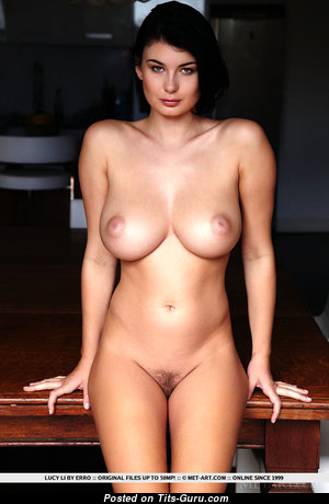 Graceful Nerd with Graceful Open Natural Soft Boobs & Puffy Nipples (Private 4k Xxx Wallpaper)