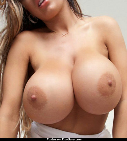Adorable Babe with Adorable Bald Big Titties (Xxx Wallpaper)