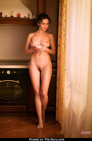 Ksyusha Egorova - sexy naked beautiful lady with medium natural boobs photo