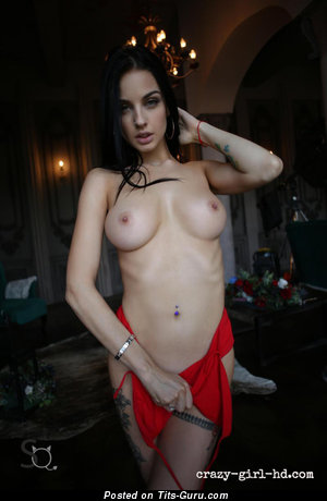Sexy Nude Playboy Brunette Babe with Weird Nipples (Hd Xxx Pix)