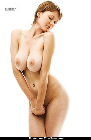 Image. Naked nice lady with big natural tittes photo