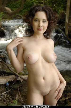Image. Nude amazing lady with big natural boobies photo